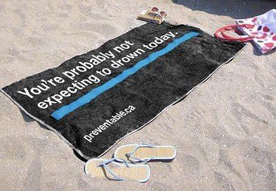Announcement Beach Towel