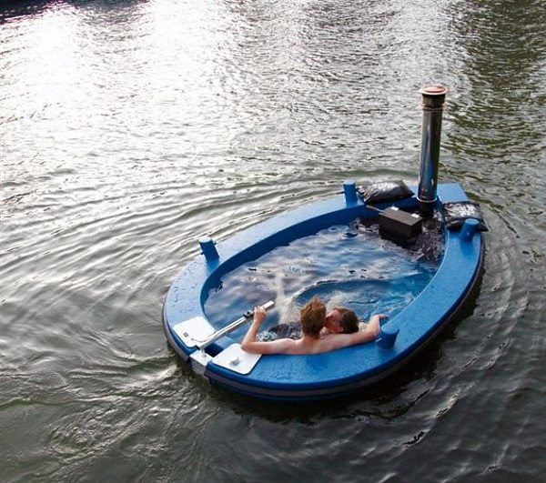 The Hot Tub Boat by Hot Tug