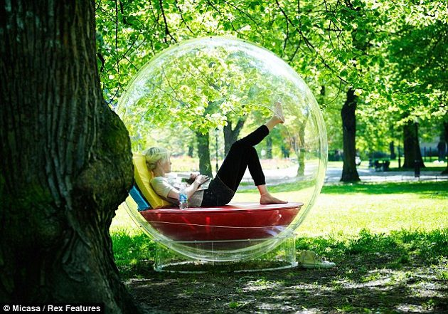 Living In A Bubble Icreatived