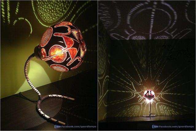 Лампы ручной работы Gourd Lamp