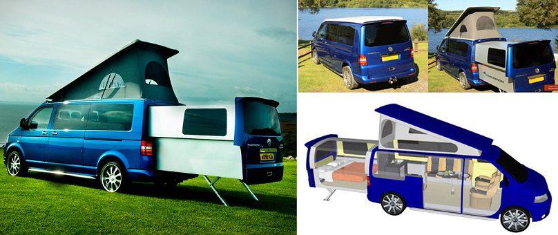 the doubleback vw transporter campervan icreatived. Black Bedroom Furniture Sets. Home Design Ideas