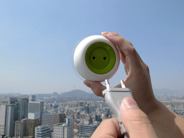Solar Energy Powered Socket 1