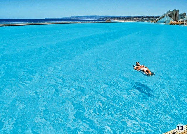 World S Largest Swimming Pool Icreatived
