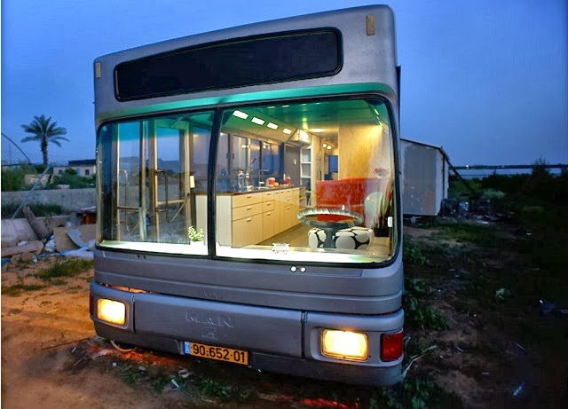 Bus Transformed Into Luxury Home