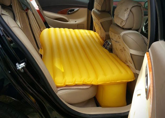 Inflatable Backseat Car Mattress Icreatived
