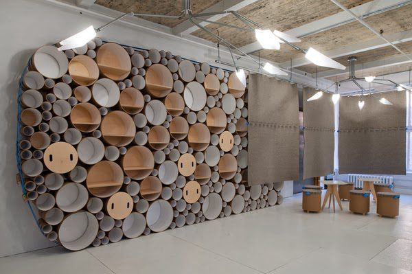 Circle packed wall by softlab icreatived for Design economico