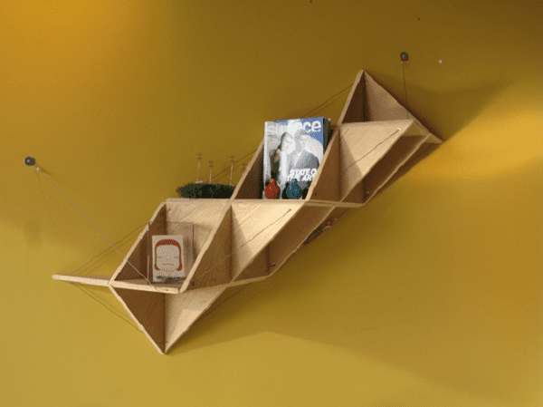 Modular Triangle Shelving Unit Icreatived