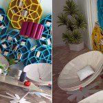 Moroccan Bookshelf Design 02