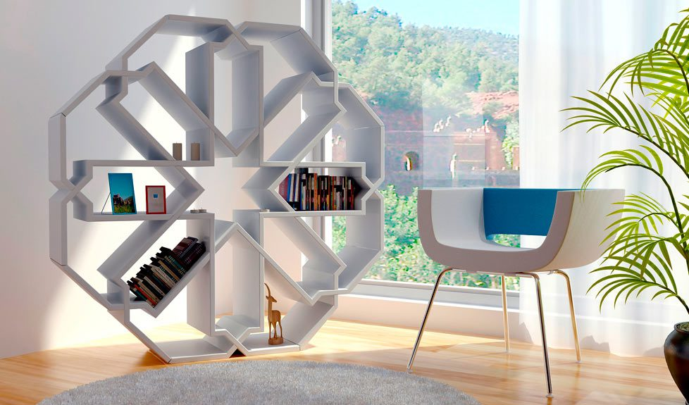Moroccan Bookshelf Design Icreatived