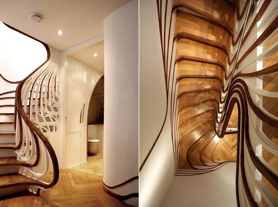Nature Inspired Stairs Icreatived