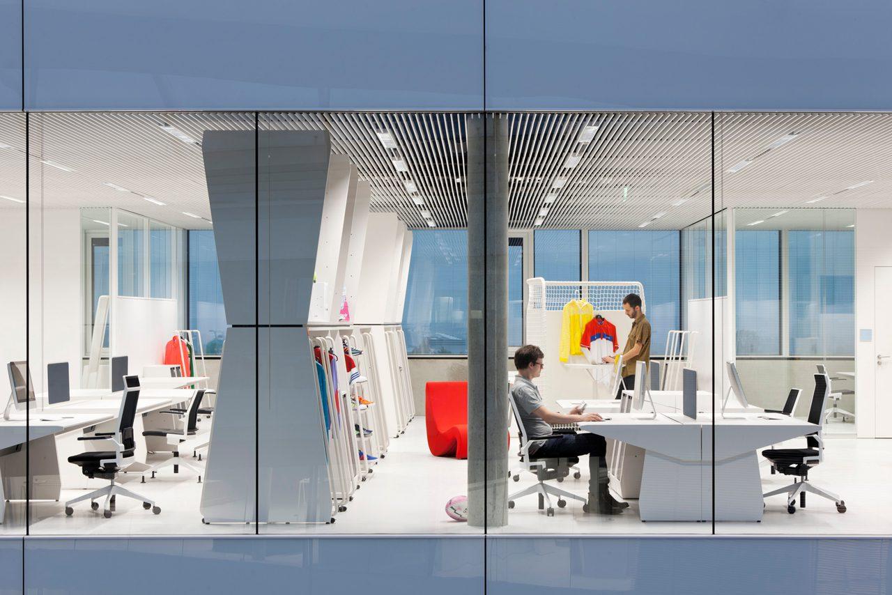 Новый дизайн офисов