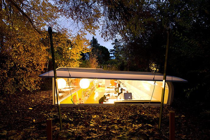 Architecture Office In The Middle Of The Madrid Woods