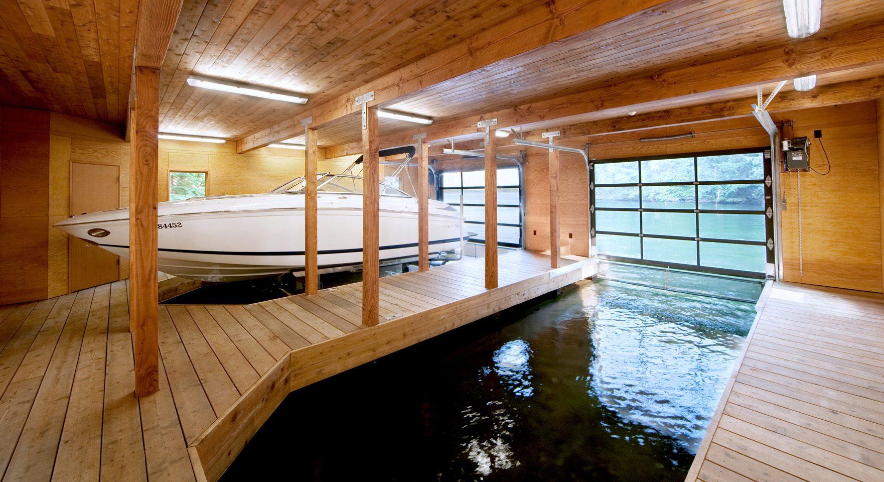 Boathouse In Muskoka Lakes Icreatived