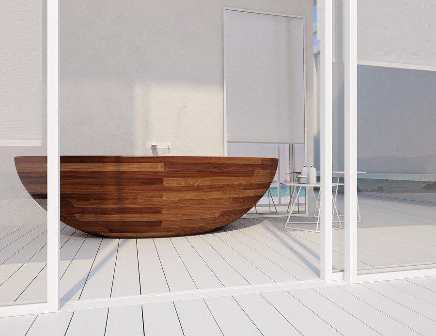 certificate unique wood design sent their bathtubs worldwide