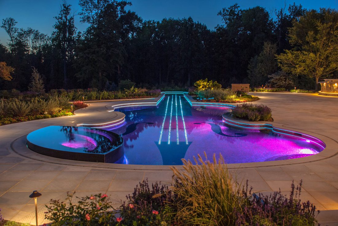 Violin Shaped Swimming Pool ICreatived