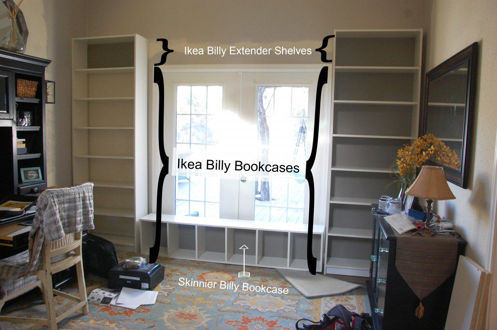 Built in Bookcases Ikea Built in Bookcases 01