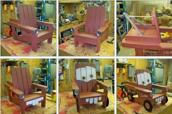 Merveilleux Tow Mater Chair 04