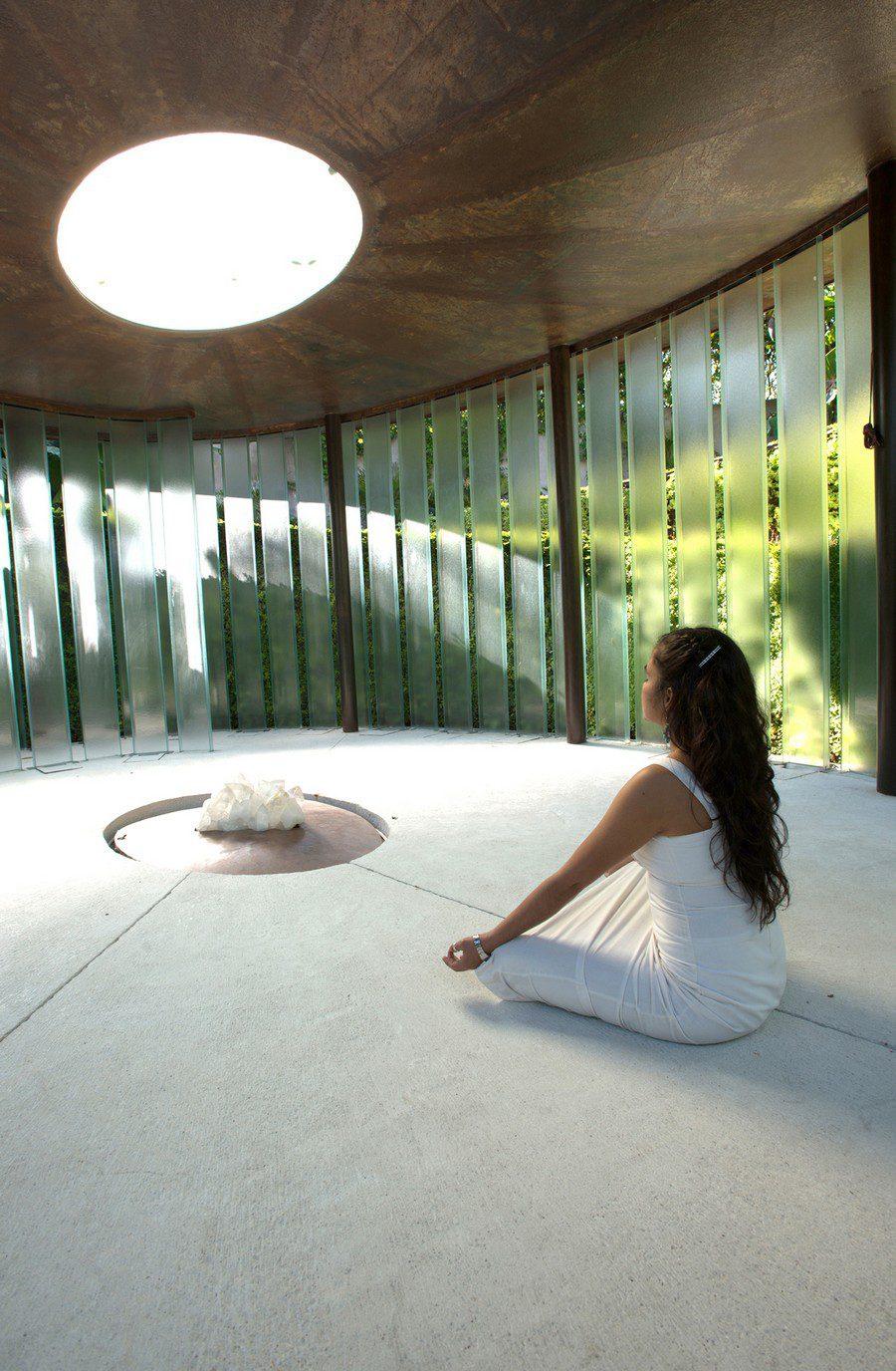Meditation Space Design beautiful meditation chapel features modern design - icreatived