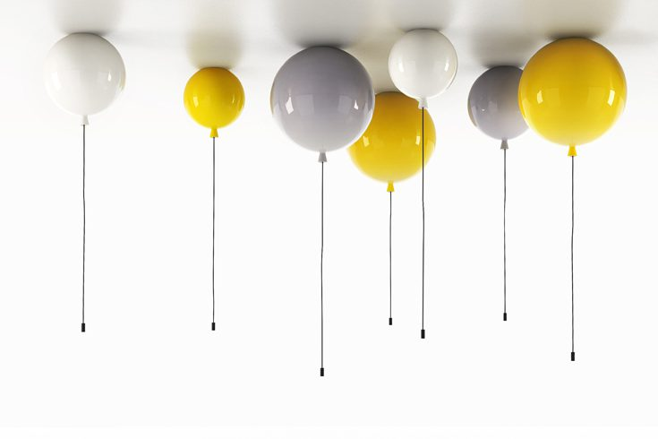 Lighting Fixtures That Look Like Helium Balloons Icreatived