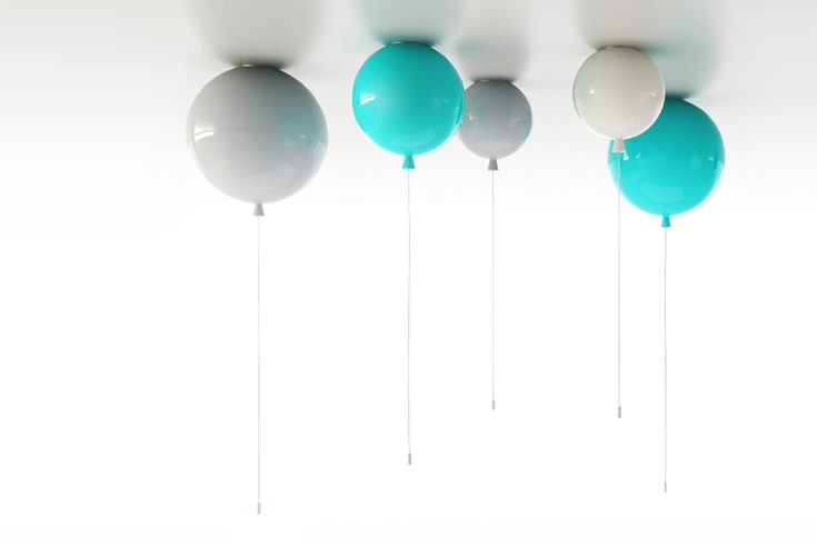 Floating Light Helium Interior Design