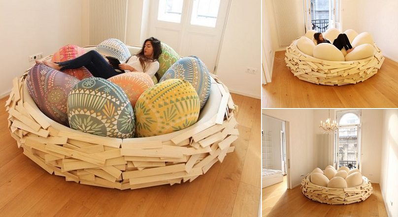 Sleep At The Giant Bird Nest Icreatived