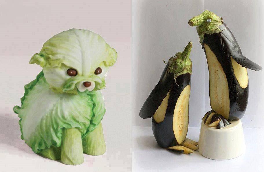 Vegetable Food Art Icreatived