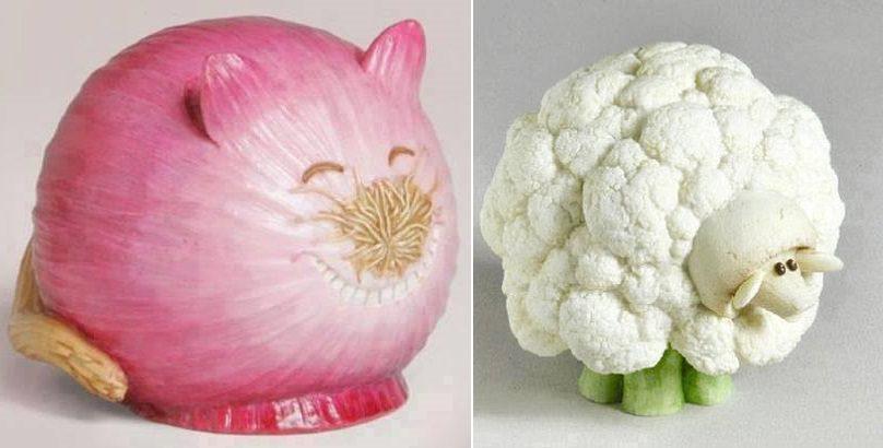 蔬菜艺术品,你舍得吃吗!