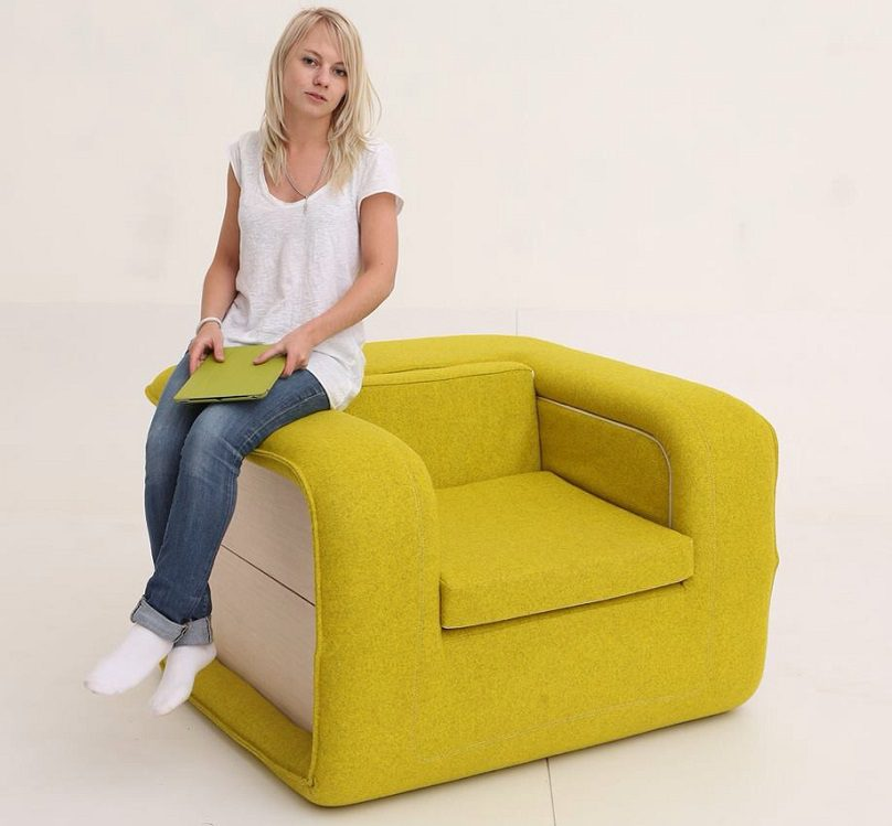 Multifunctional-Arm-Chair-With-a-Bed-Attached-01