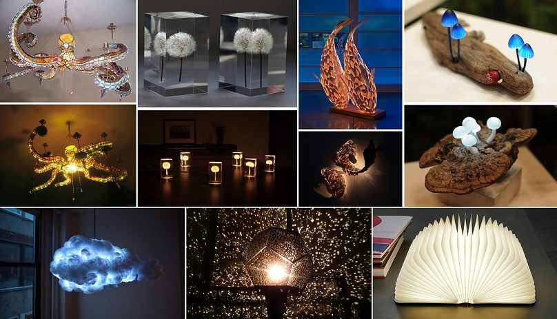 10 Most Awesome Lamps And Chandeliers Designs