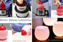 How To Make Luminaries With Water Balloons - DIY Project