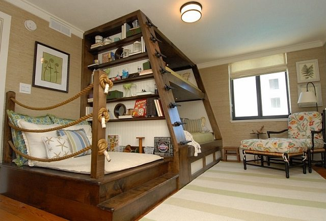 Luxury Southern Bunk Bed Design