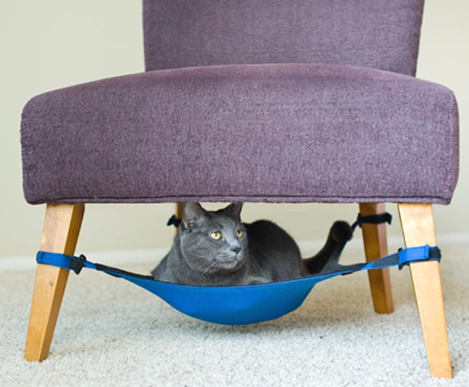 A cat crib