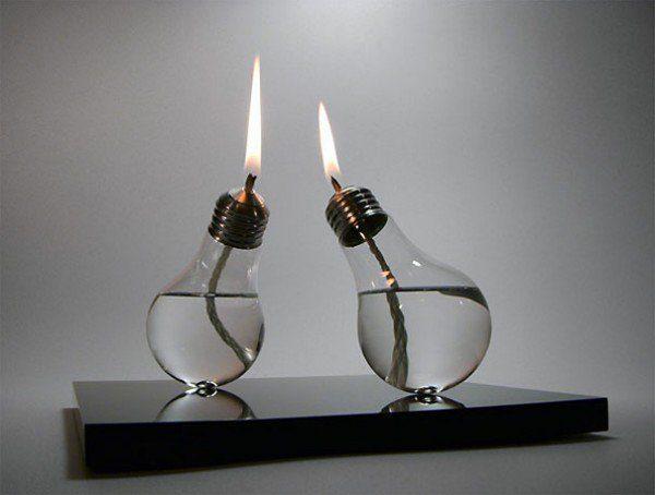 PicksLightbulbs Into Oil Lamps Sergio Silva