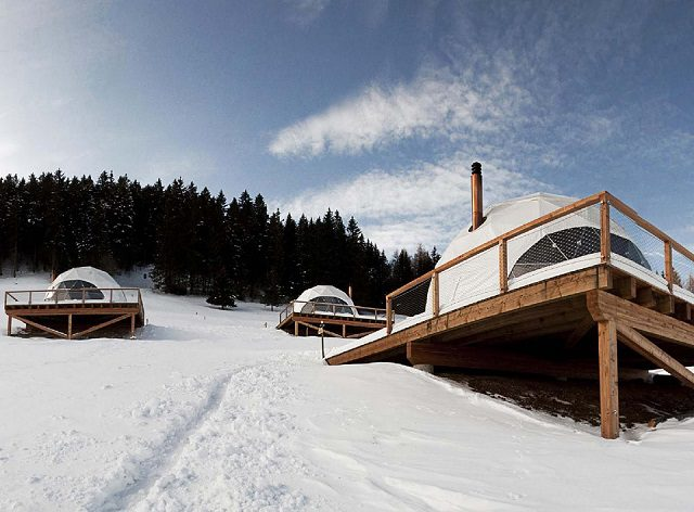 Whitepod Luxury Hotel in Swiss Alps 8