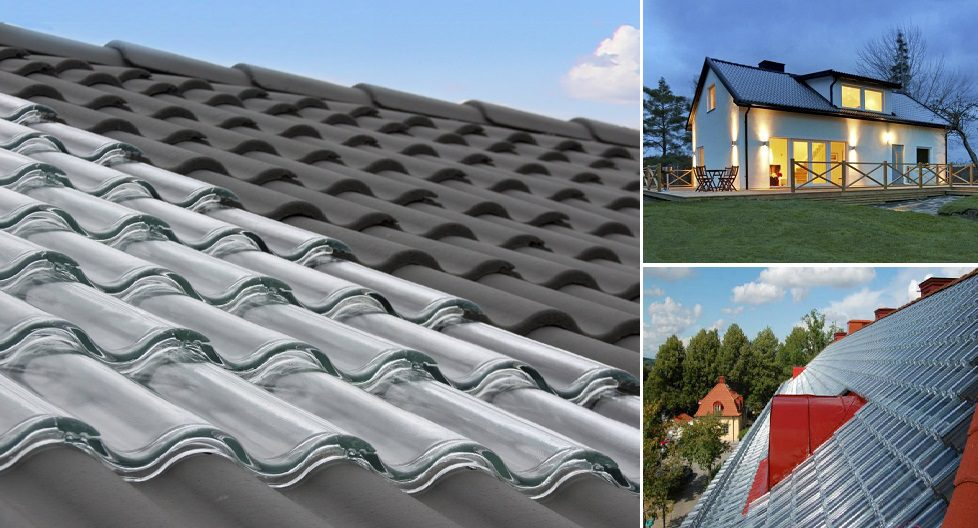 Perfect Your Roof Can Generate Electricity With These Glass Tiles