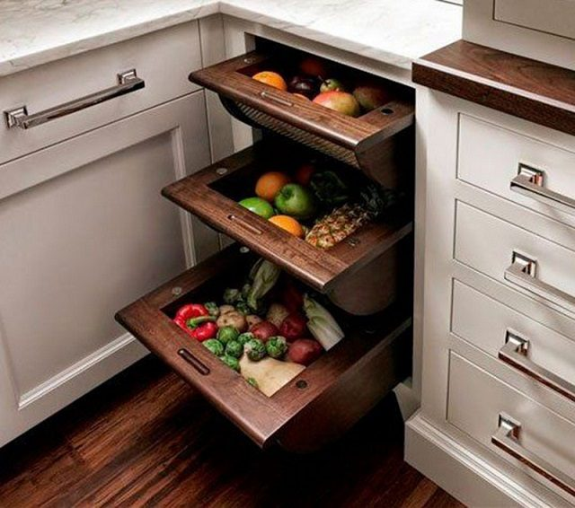 12 storage ideas for fruits and vegetables - icreatived 12 Storage Ideas