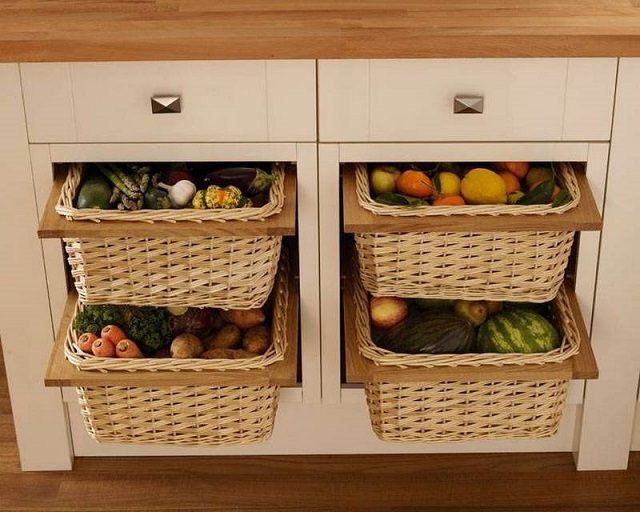 12 Storage Ideas For Fruits And Vegetables Icreatived