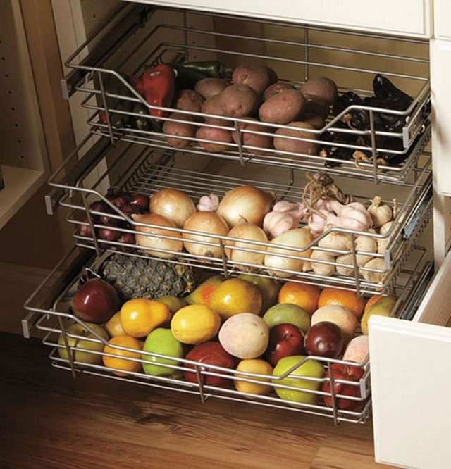 12 Storage Ideas For Fruits and Vegetables 3