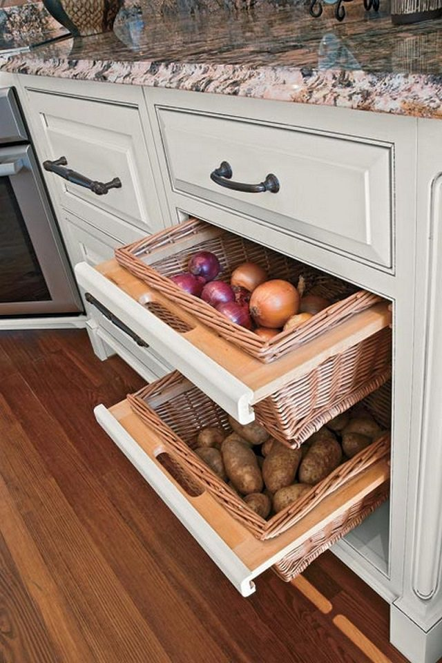 12 Storage Ideas For Fruits and Vegetables 8