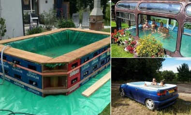 17 Cool Temporary Pools