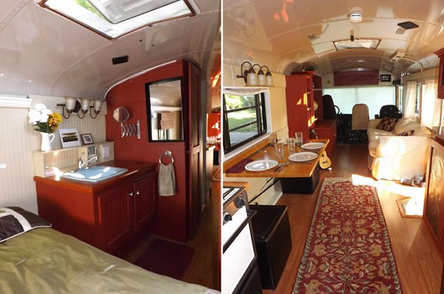 39 Foot Thomas Bus Transformed To Rv Icreatived