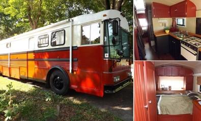 39 foot Thomas Bus Transformation to RV