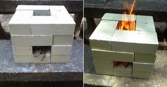 How To Make A Brick Rocket Stove DIY ICreatived