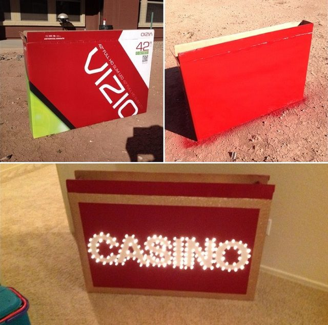 Homemade casino table decorations 15