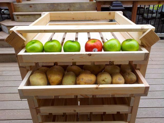 Food Storage Drying Rack - DIY 1