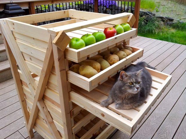 Food Storage Drying Rack - DIY 2