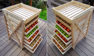 Food Storage Drying Rack - DIY