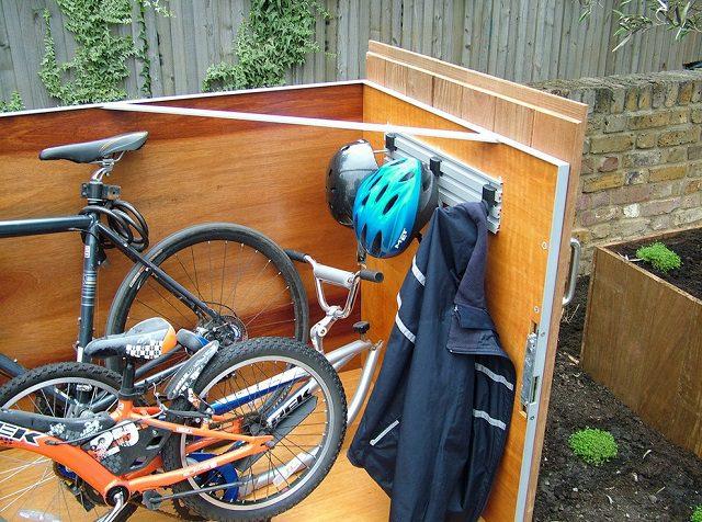 How To Build A Bike Storage Shack 5
