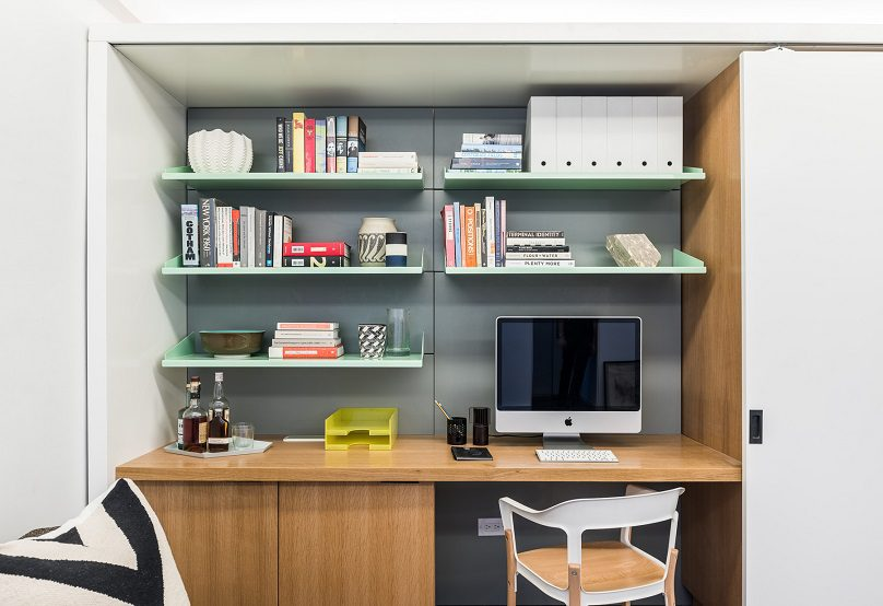 The Five to One Apartment Containing the functional and spatial elements within a compact 390 Sf 8