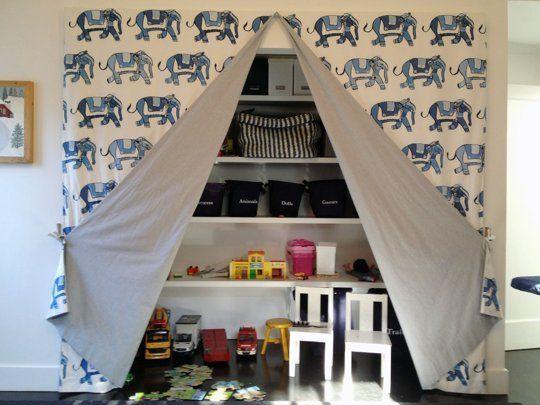 17 Clever Kids Room Storage Ideas 17